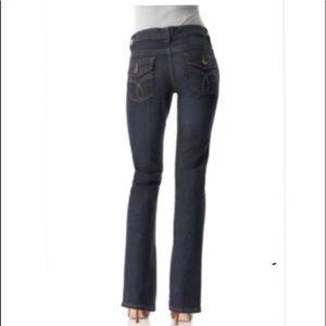 Calvin Klein Lean Boot Jeans  Womens Size 10